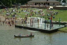 Hiding in southern Ohio, there's a water park with a sand beach, water slides and even a splash pad. It just might be the best natural water park in Ohio. Camping In England, Camping In Ohio, Camping Gear, Fun Winter Activities, Camping Activities, Quarry Lake, Lake George Village, Summer Vacation Spots, Family Resorts