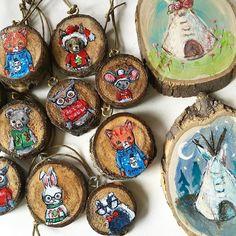 Market day is tomorrow!! Today's @etsycalgary Made in Canada photo: Getting Ready. Nervous Excited Ugly Christmas Sweater Ornaments . . . . #12DAYSMICYYC #jennydaledesigns #jenniferstablesart #yyc #calgary #yycevents #okotoksartist #paintersofinstagram #mycreativebiz #illustratorsofinstagram #etsyseller #etsycalgarymic #etsycalgary #DifferenceMakesUs #etsysuccess #okotoksmarketsquare #vsco #christmasgiftideas #christmasornament #uglychristmassweaters #catillustration