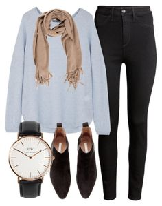 """""""Untitled #5046"""" by laurenmboot ❤ liked on Polyvore featuring H&M, Vince, Acne Studios and Daniel Wellington"""