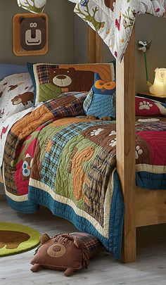 Woodland Quilt, Comforter and Sheets Collection