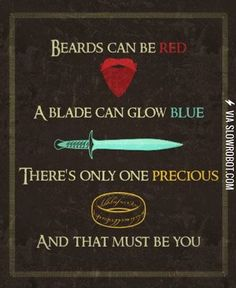 Beards can be red...