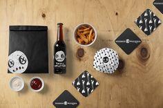 Branding concept for Voodoo Pizzeria.