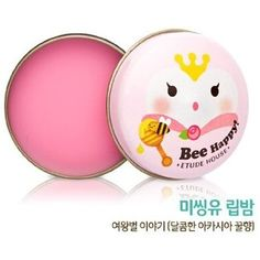 Etude House Missing U, Bee Happy Lip Balm 13g (Queen Bee Acacia blossom)