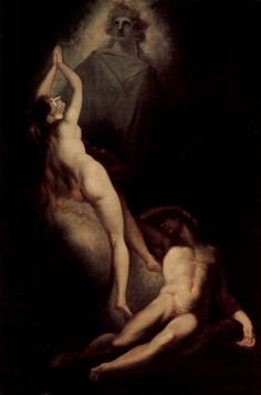 Henry Fuseli  -'The Creation of Eve' from Milton's Paradise Lost, 1793.
