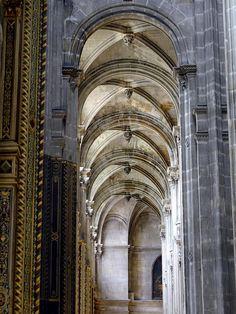 Interior Of Saint Eustache Church In Paris Photograph