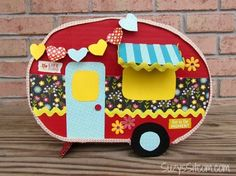 The 30 Cutest Valentine's Day Card Box Holder Ideas - including this adorable RV :)