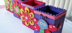 Como hacer manualidades con palos de helados para niños