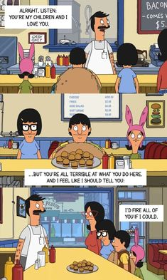 They're honest. | 22 Reasons The Belchers Are Better Than Your Actual Family