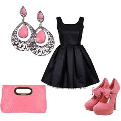 Black and Pink reasons-to-go-shopping