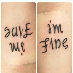 Anxiety Is Rarely Something You Can See -- why is this lowkey a bts tattoo :^) Bts Tattoos, Neue Tattoos, Body Art Tattoos, Tatoos, Tribal Tattoos, 1 Tattoo, First Tattoo, Tattoo Quotes, Tattoo Wolf