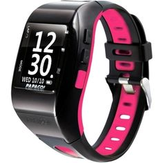 PAPAGO! GoWatch 770 GPS Multi-Sports Watch - Pink Belt - Overstock™ Shopping - Great Deals on Fitness Tech