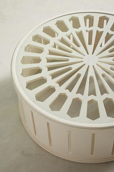 Lacework Coffee Table   Anthropologie