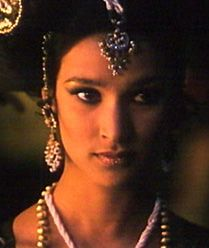 Indira Varma.  You may recognize her from HBO's Rome.
