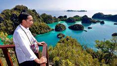 Jokowi : Enggak Dapat 20 Juta Wisman Kebangetan Menterinya : Gampang itu Raja Ampat dan Labuhan Bajo dengan komodonya sudah terkenal alamnya khas hutannya enggak banyak tapi vegetasinya unik. Dunia mana ada yang punya komodo.