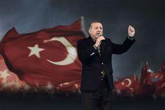 Oh ironie? Turkse wet verbiedt campagne voeren in het buiten... - Het Nieuwsblad