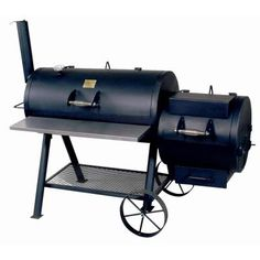 20 in. Oklahoma Joe Longhorn Offset Smoker