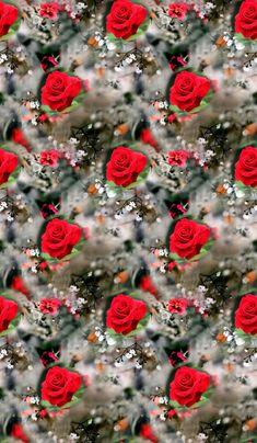 Flower Wallpaper, Wallpaper Backgrounds, Iphone Wallpaper, Bright Paintings, Digital Pattern, Love Flowers, Digital Prints, Orange, Cards