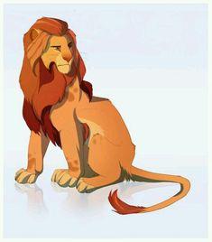 Kion by Solri-Elara on DeviantArt Lion King Tree, Lion King Fan Art, Lion King 1, Lion Art, Disney Lion King, Big Cats Art, Cat Art, Animal Sketches, Animal Drawings