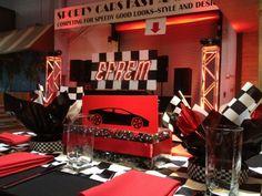 Racing & Nascar Theme Bar Mitzvah