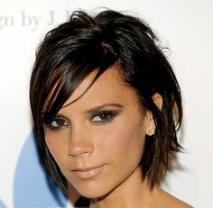 99 Awesome Victoria Beckham Bob Haircuts In Victoria Beckham S Hairstyles Colours Bob Lob the Pob, Short Haircut Styles Bob Haircut and Slightly Permed, 108 asymmetrical Bob Hairstyles This Century S Most, Victoria Beckham Graduated Bob Hairstyles Weekly. Vic Beckham, Beckham Hair, Hair Styles 2014, Medium Hair Styles, Short Hair Styles, Layered Haircuts For Women, Short Hair Cuts For Women, Short Hairstyles 2015, Cool Hairstyles