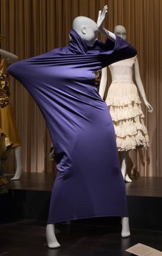 Martha Graham costume for Lamentation. Lent by Martha Graham Dance Company #dancefashion