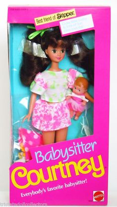 Babysitter Courtney doll: you know I had it.