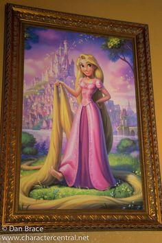 Princess Rapunzel,  Tangled,  Princess Fairytale Hall,  Fantasyland,  Magic Kingdom