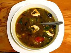 Sopa Levanta Muertos - Morning Soup #Paleo #Recipe #grainfree #glutenfree
