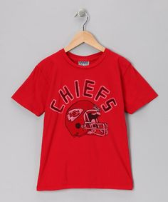 a489b1620 Take a look at this Red Kansas City Chiefs Tee - Toddler  amp  Kids by