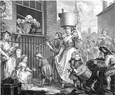 William Hogarth.  Man of the people.