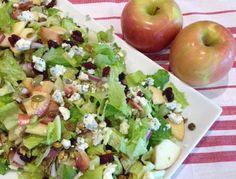Fuji Chop Apple Salad - a delicious recipe from Eckert's!