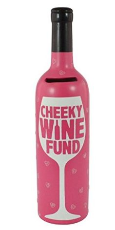 Wine Stoppers - Wine Bottle of Dreams  Ceramic Money Box  Cheeky Wine Fund -- Check out the image by visiting the link.