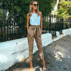High waist harem pants casual pants Trousers