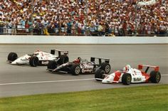 1991 Indy 500 - Mears, Foyt, Andretti