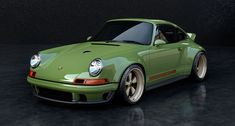 Vintage Car Models This Is Singer and Williams's Lightweight, Wildly Reimagined Porsche 911 - Singer Vehicle Design and Williams have worked together to create a 911 restoration like no other. Porsche 964, Porsche Carrera, Carros Porsche, Porsche 911 Singer, Singer 911, Porsche Cars, Porsche Classic, Bmw Classic Cars, Classic Auto