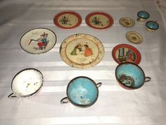Ohio Art Company Toy Tea Set Antique Tin Litho Misc Pieces Monkeys Wolf Others | Toys & Hobbies, Vintage & Antique Toys, Tea Sets | eBay!