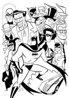 Animated Batman Coloring Pages Batman Beyond Animated Series