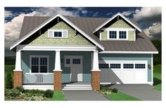 House Plan 461-9, This one has a pretty sweet floor plan as well (and Jack and Jill bathroom- love)!