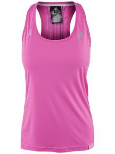 adidas Women's Pink Ribbon #Tennis Tank