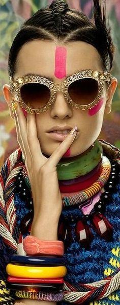 rainbowfashion.quenalbertini: Dolce & Gabbana Filigree Collection