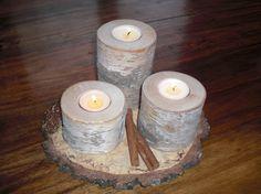 OBI Selbstgemacht! - DIY - Selbstgemachte Teelicht-Kerzenständer aus Bi... - Selbstgemacht! Community