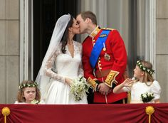 Prince William and Kate Middleton exchange vows at London's Westminster Abbey on April 29.