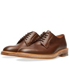 END. x Tricker's Robert Derby Shoe (Coffee Burnished)