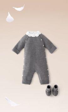 babies in grey