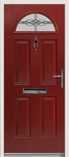 Our popular Eiger style #composite #door with 'Graphite' glass design.