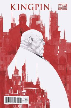 Civil War II: Kingpin #2 (2016) Variant Cover by Dustin Nguyen