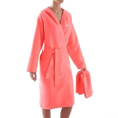 f3418a5a0e WOMEN ORANGE MICROFIBRE TOWEL BATHROBE. TowelSwimmingOrangeSwimSwat