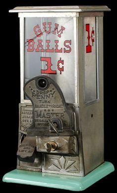 vintages gumball machine