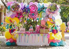 Marine S's Birthday / Paw Patrol - Photo Gallery at Catch My Party Paw Patrol Birthday Girl, Paw Patrol Party, 3 Year Old Birthday Party, Third Birthday, Baby Birthday, Balloon Decorations, Birthday Party Decorations, Party Themes, Party Ideas