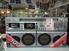 Toshiba rt 983 Cassette Recorder, Tape Recorder, Tvs, Radios, Audio Sound, Hifi Audio, Boombox, Audio System, Vintage Ads